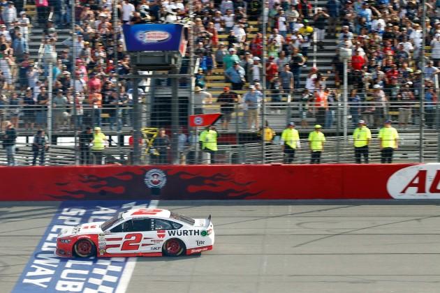 Brad Keselowski Wins Auto Club 400 (2)