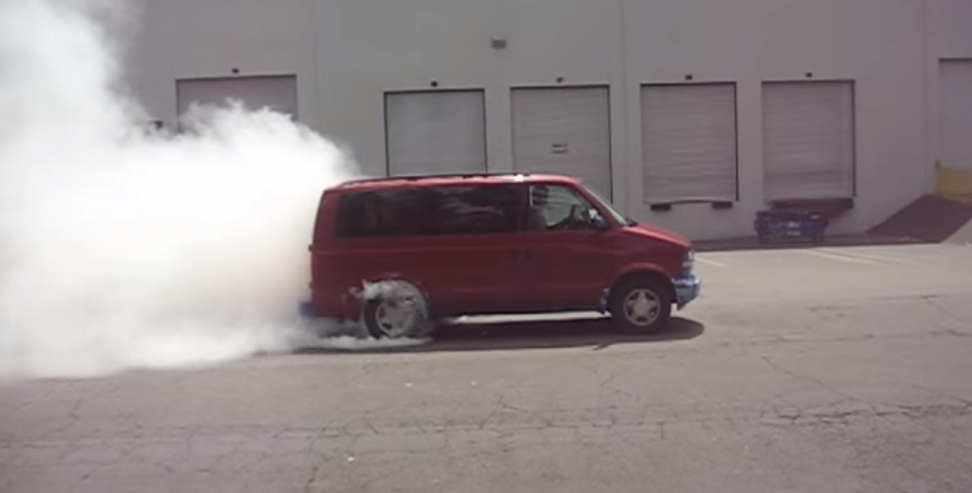 Chevy Astro Burnout