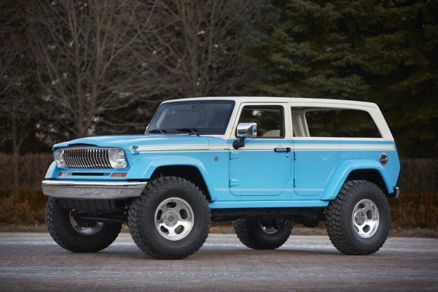 2015 Easter Jeep Safari Concepts | Jeep Chief
