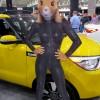 Cleveland Auto Show Sexy Kia Hamster Auto Show Girl