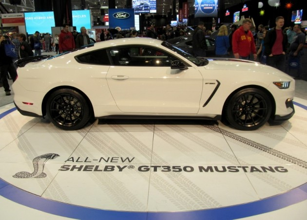 2015 Cleveland Auto Show Shelby GT350 Mustang