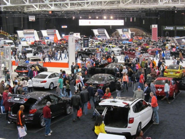 2015 Cleveland Auto Show at the I-X Center
