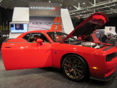Cleveland Auto Show Dodge Challenger Hellcat