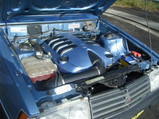 1983 Mitsubishi Sigma wagon