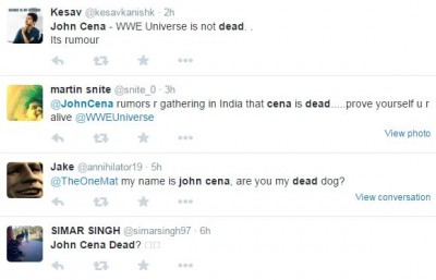 """""""my name is john cena, are you my dead dog?"""""""