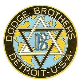 Dodge logo badge star of David