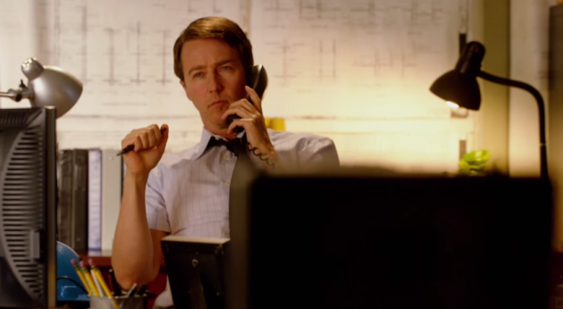 "Two three-time Academy Award nominee Ed Norton stars in ""Infrastructure"""