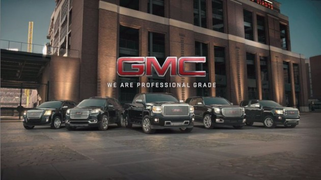 2015 GMC Full Vehicle Lineup Featured in GMC's Precision Adverti