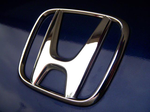 History of the Honda logo badge via flickr CC