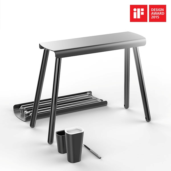 Hyundai Motorstudio Collection Wins Three iF Design Awards Stool