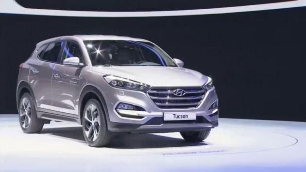 Hyundai Tucson debut at 2015 Geneva Motor Show