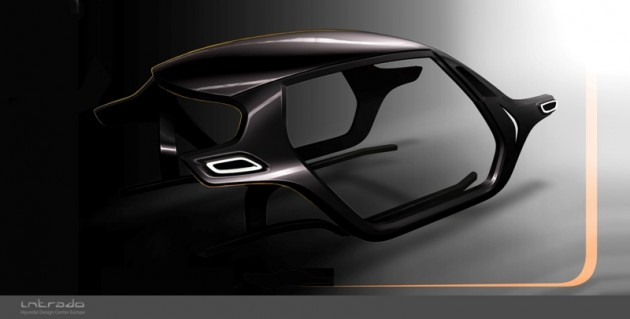 Hyundai's Intrado Carbon Frame Desgin