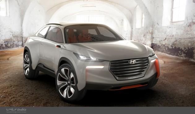 Hyundai's Intrado Carbon Frame exterior