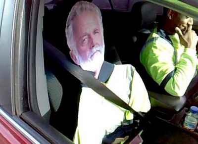 I Don't Always Drive Illegally in the HOV Lane...