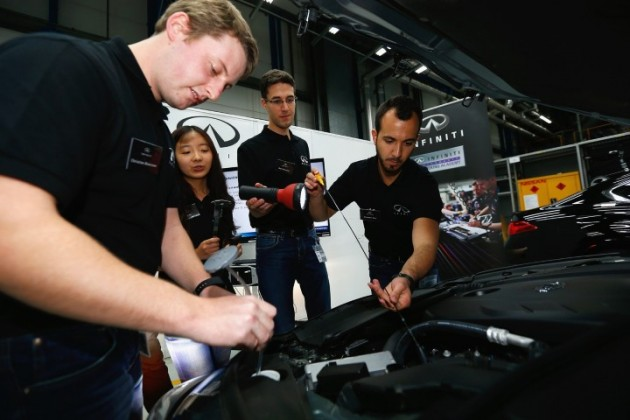 Infiniti offers top engineering students the motorsport career o