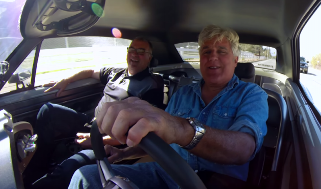 Jay Leno drives a 1,000 hp 1966 Chevrolet Chevell Recoil