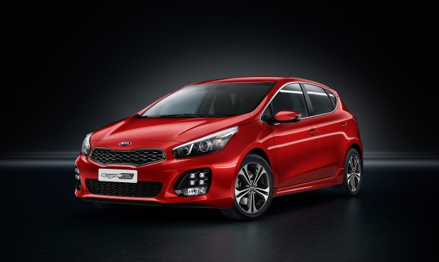 The new motor will be featured in the Europe-only Kia Cee'd GT line