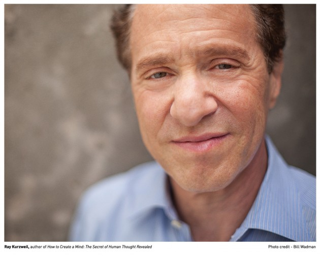 Ray Kurzweil, author of How to Create a Mind: The Secret of Huma