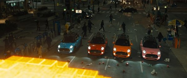 MINI Cooper Pixels movie