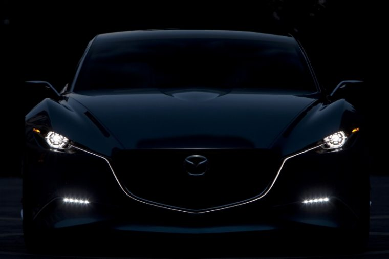 Mazda Shinari concept using KODO Soul of motion design