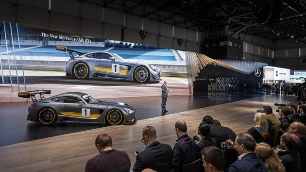 Mercedes-AMG GT3 | Mercedes at the 2015 Geneva Motor Show
