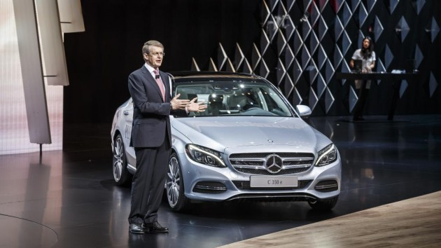 Mercedes-Benz C 350 e   2015 Geneva Motor Show