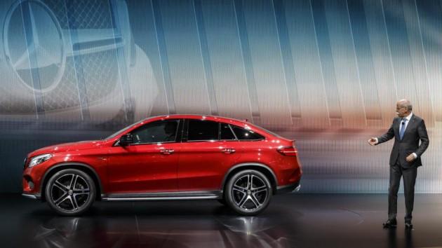 Mercedes-Benz GLE Coupé   2015 Geneva Motor Show