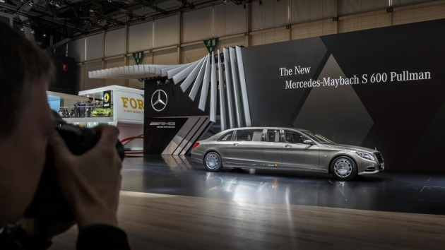 Mercedes-Maybach S600 Pullman | Mercedes at the 2015 Geneva Motor Show