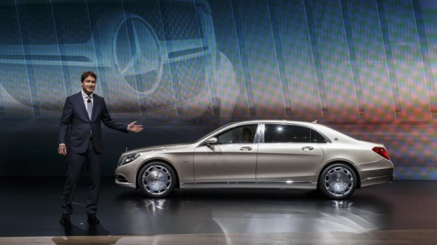 The Mercedes-Maybach S600 | Mercedes at the 2015 Geneva Motor Show