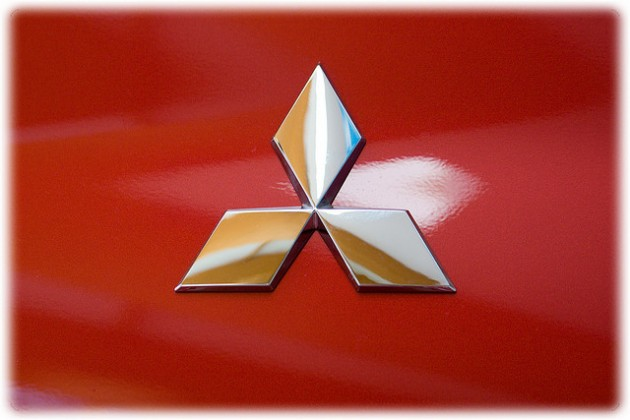 Mitsubishi Logo history analysis badge emblem red via Flickr
