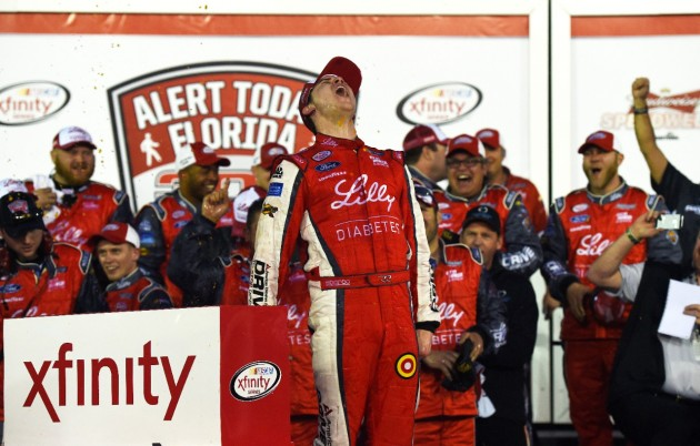 Ryan Reed Wins Inaugural XFINITY Series Race in Daytona