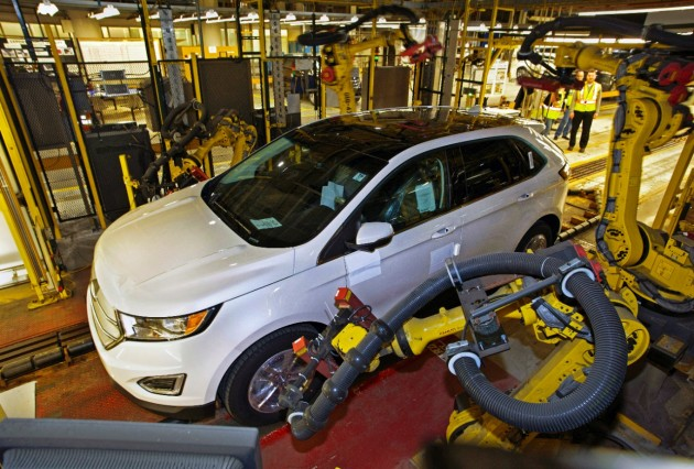 2015 Ford Edge Production Kicks Off at Oakville