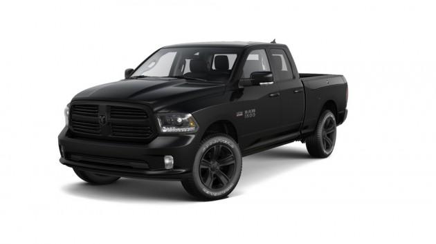 Ram 1500 Black Sport