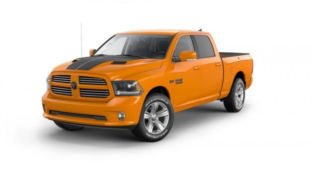 Ram 1500 Ignition Orange Sport