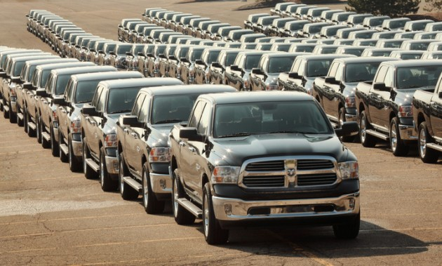 Largest Parade of Pickup Trucks | Ram Truck Round-Up