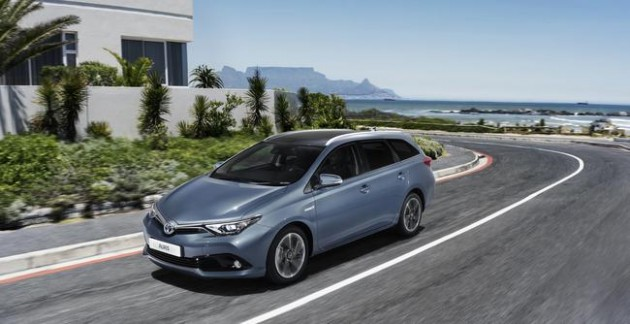 Auris turbocharged engine
