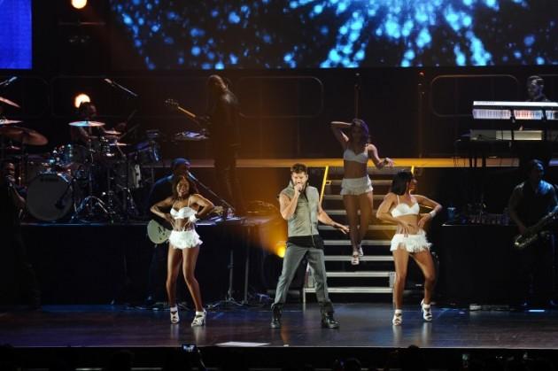 Ricky Martin Toyota concert
