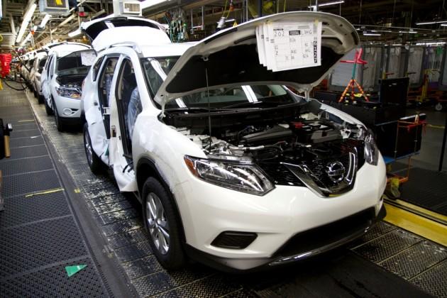Nissan Rogue Smyrna Assembly