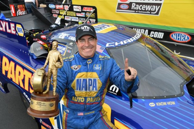 Ron Capps Ends Hagan's Reign at 46th Annual NHRA Gatornationals