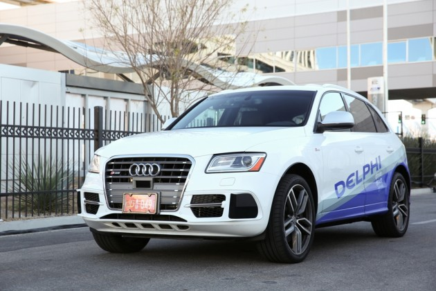 SQ5-equipped Automated Driving Vehicle Download