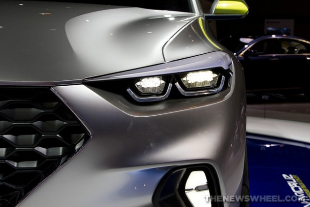Hyundai Santa Cruz crossover at the 2015 Chicago Auto Show