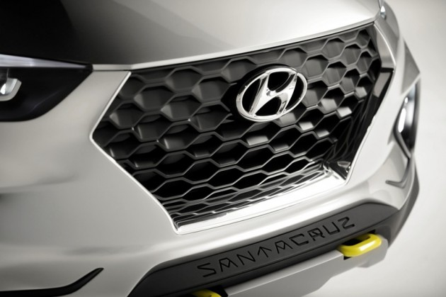 Santa Cruz Crossover SUV Truck Concept Rear exterior tied to Hyundai Alabama Plant Expansion
