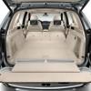 Silver plug-in BMW X5 xDrive40e SUV trunk