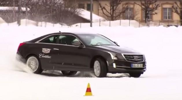 Snow Drift Cadillac