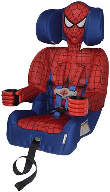 Spiderman booster seat