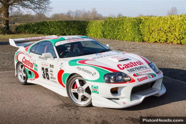 Toyota Castrol Supra Red Nose Day