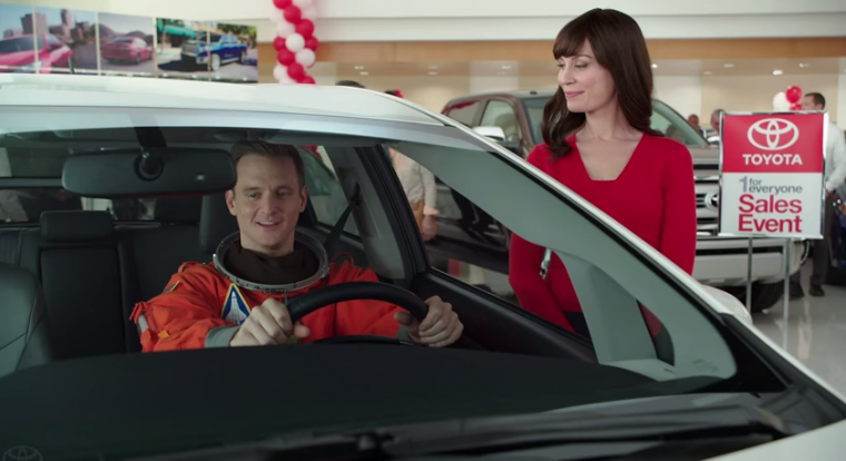 Toyota Jan astronaut commercial