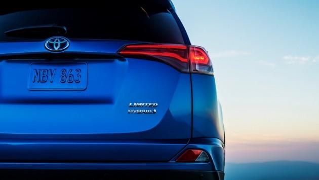 Toyota RAV4 Hybrid teaser image