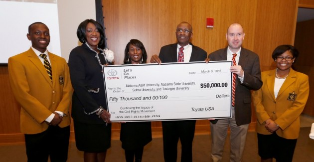 Toyota donates to black colleges