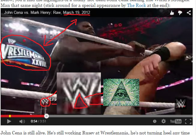 Illuminati Confirmed John Cena